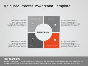Product Characteristics Square Powerpoint