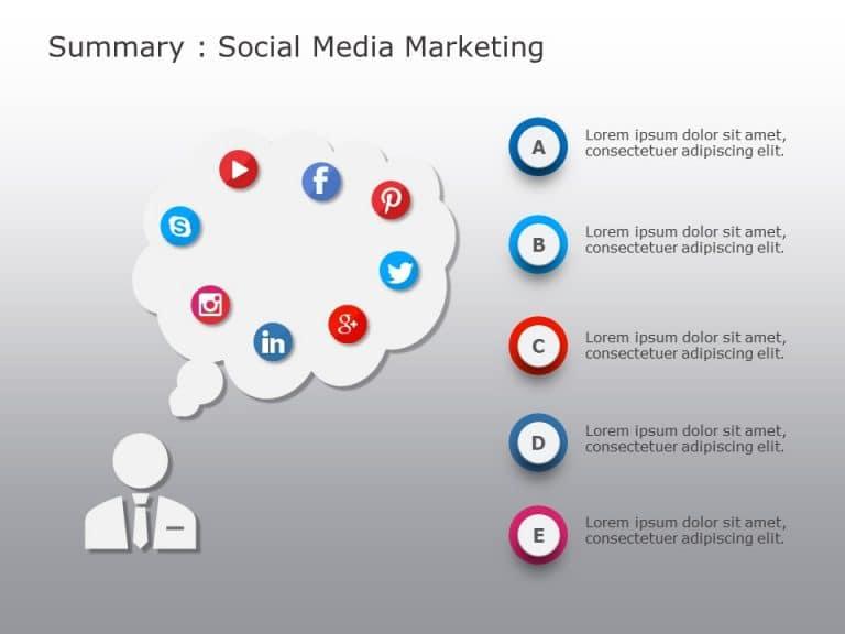 Social Media Marketing PowerPoint Template 5