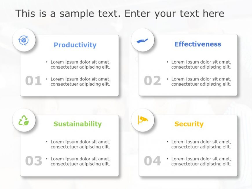 Business Benefits 4 Steps