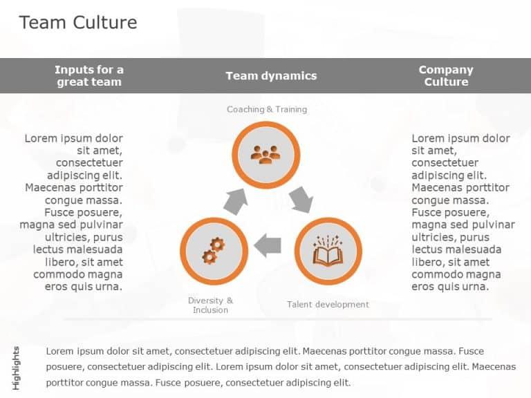 Company Culture Communication Template