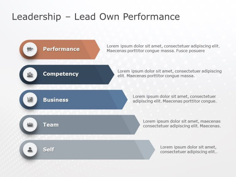 Leadership Experience PowerPoint Template 3