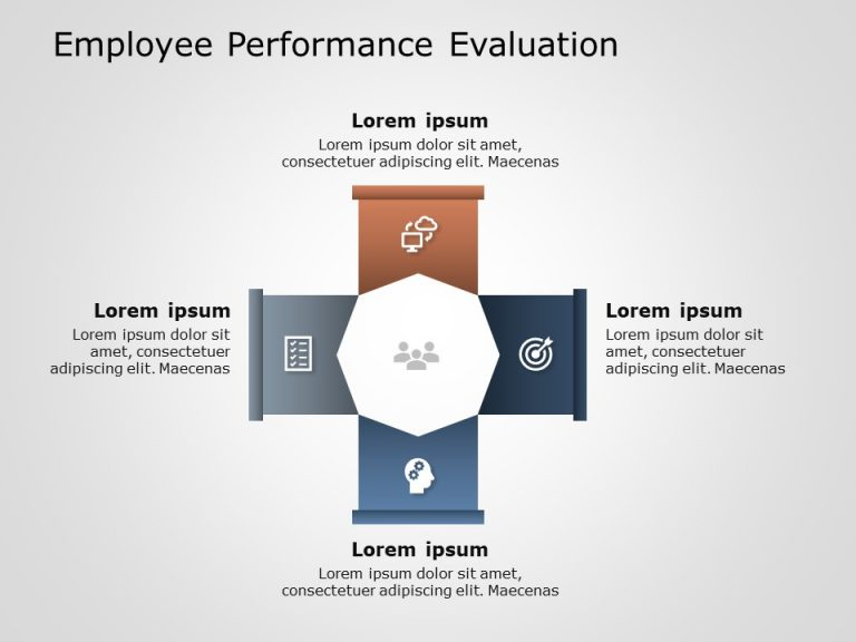 Employee Performance Evaluation PowerPoint Template 1