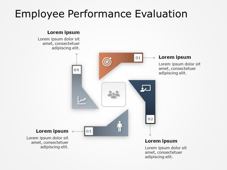 Employee Performance Evaluation PowerPoint Template 2