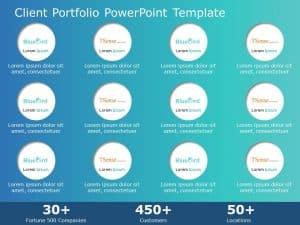 Client Portfolio PowerPoint Template
