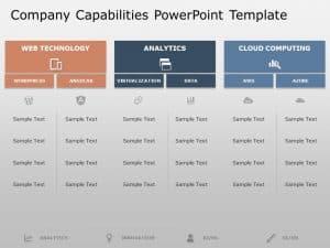 Company Capabilities PowerPoint Template 4