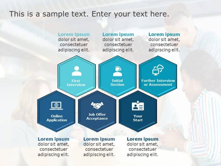 Recruitment Process PowerPoint Template 6