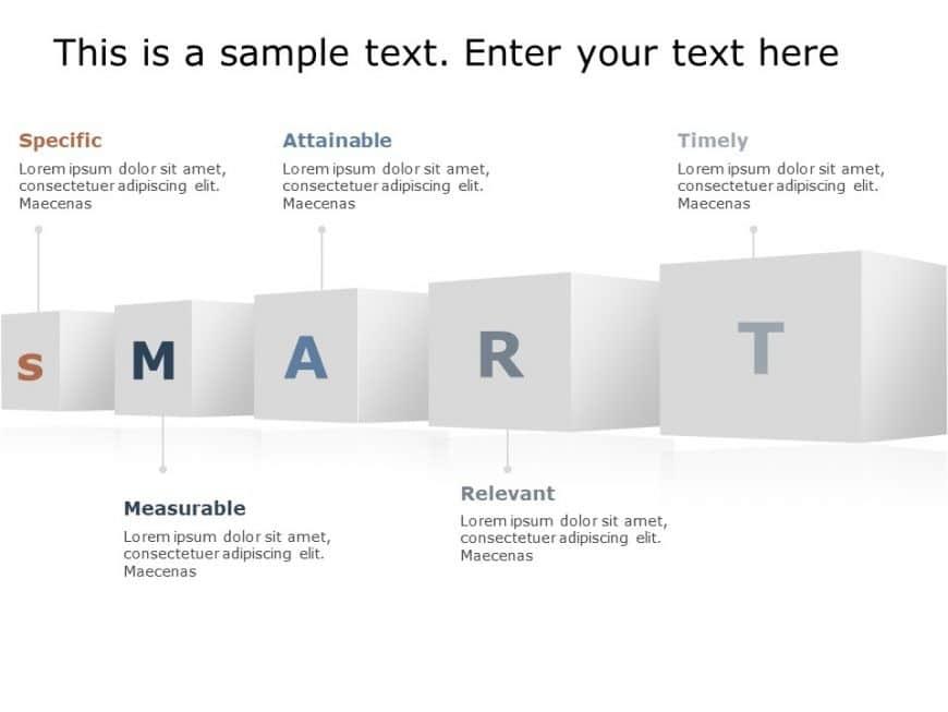 Smart Goal PowerPoint Template 1