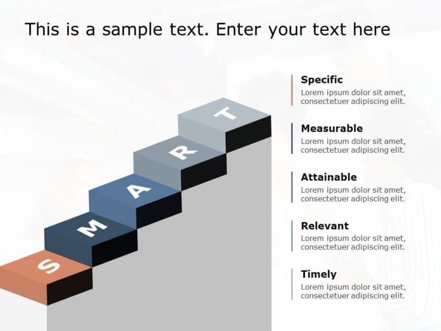 Smart Goal PowerPoint Template 4