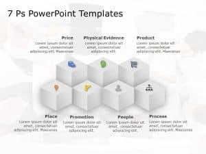 7 P Marketing Mix PowerPoint Template 5