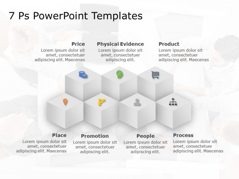 7 P Marketing Mix PowerPoint Template 5