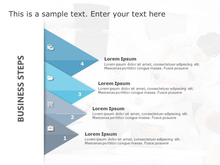 Business Steps PowerPoint Template 8