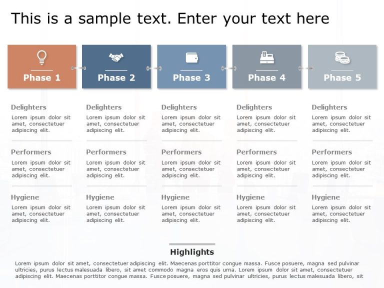 Product RoadMap PowerPoint Template 9