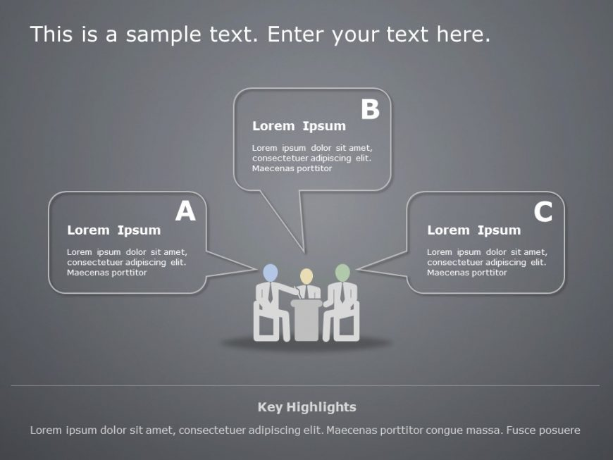 Employee Competency PowerPoint Template 2