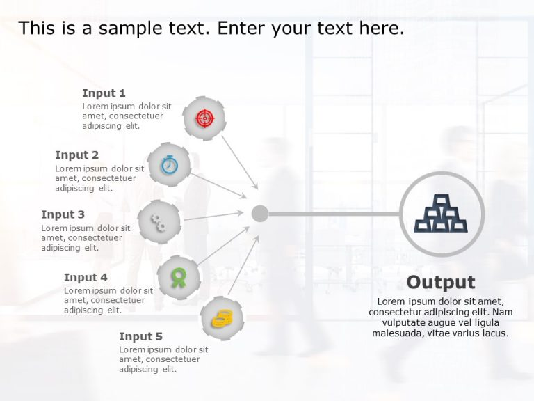 Input Output PowerPoint Template 1