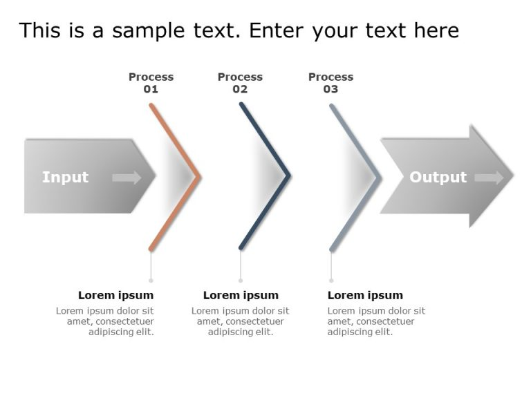 Input Output Process PowerPoint 1
