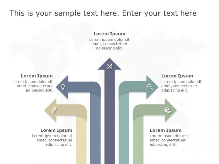 Multiple Path Options Template 3