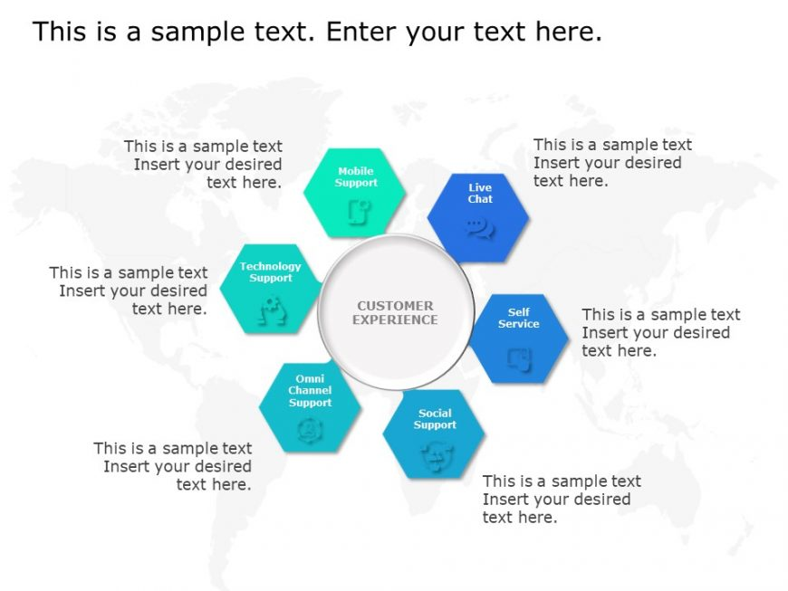 CRM Marketing Hexagon
