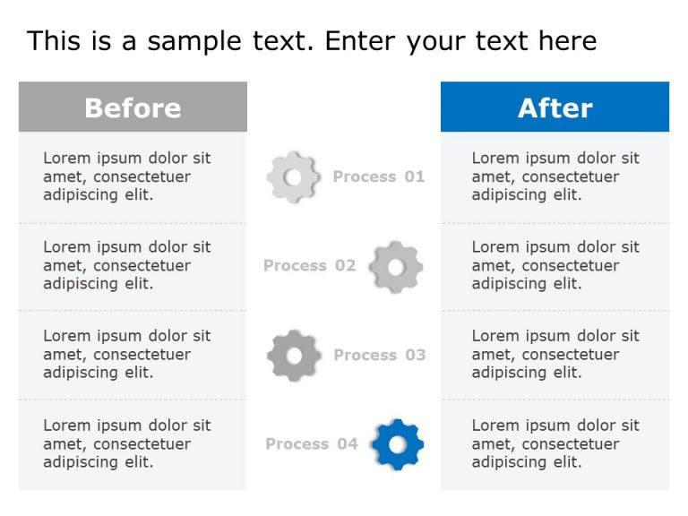Before After Powerpoint Template