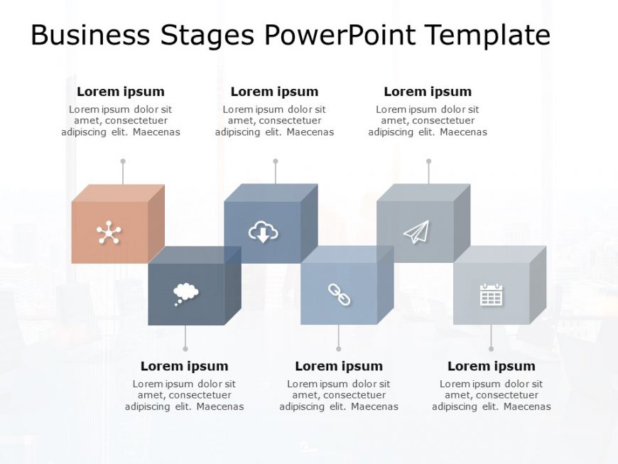 Business Stages PowerPoint Template
