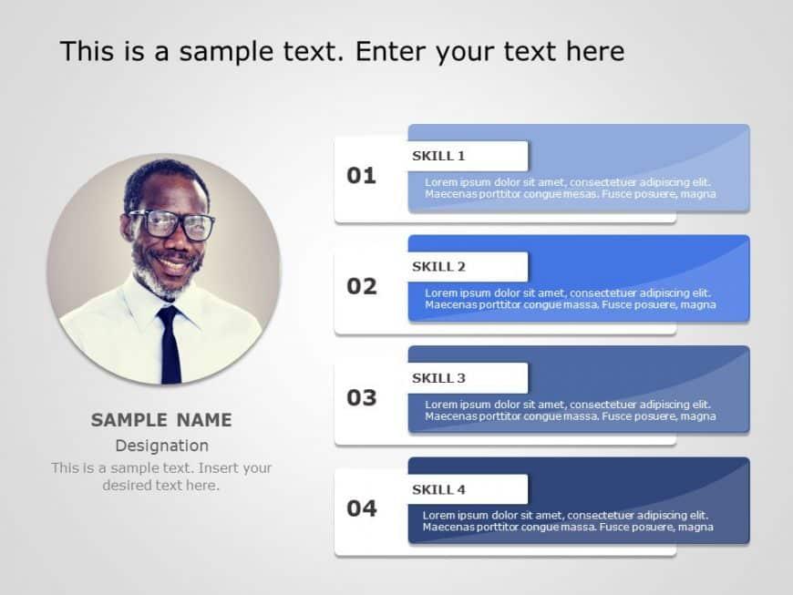 Employee Profile PowerPoint