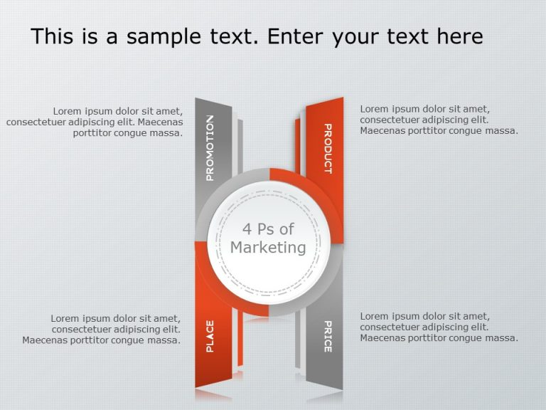 4Ps Marketing PowerPoint Template 6