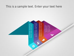 Pyramid Shape PowerPoint Template 2