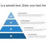 Free Pyramid Shape PowerPoint template 3