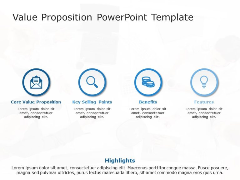 Value Proposition PowerPoint Template 2