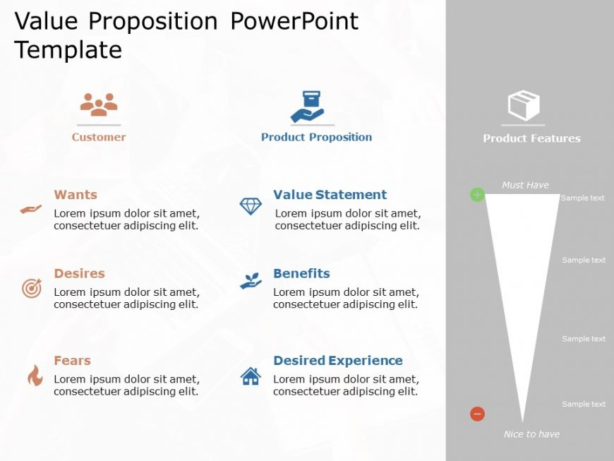 Value Proposition PowerPoint Template 4