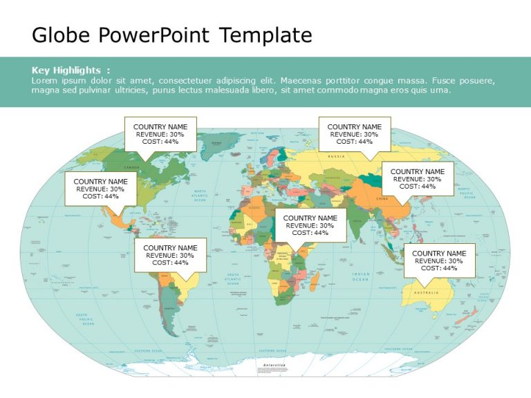 Globe PowerPoint Template