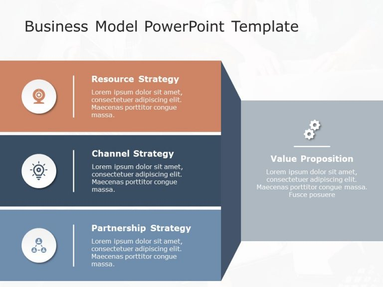 Business Model PowerPoint Template 7