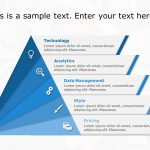 Triangle Text Box PowerPoint Template 1