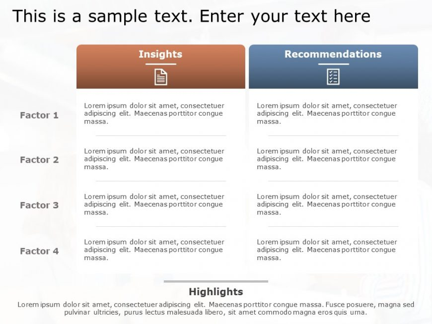 Recommendation PowerPoint Template