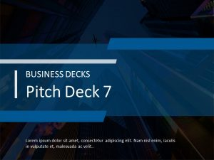 Startup Pitch Deck 7