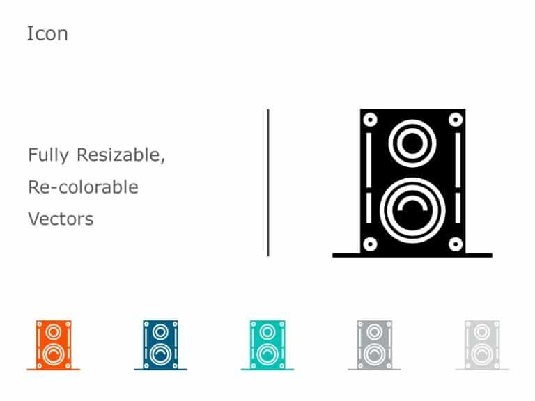 Speakers Icon Vector 9