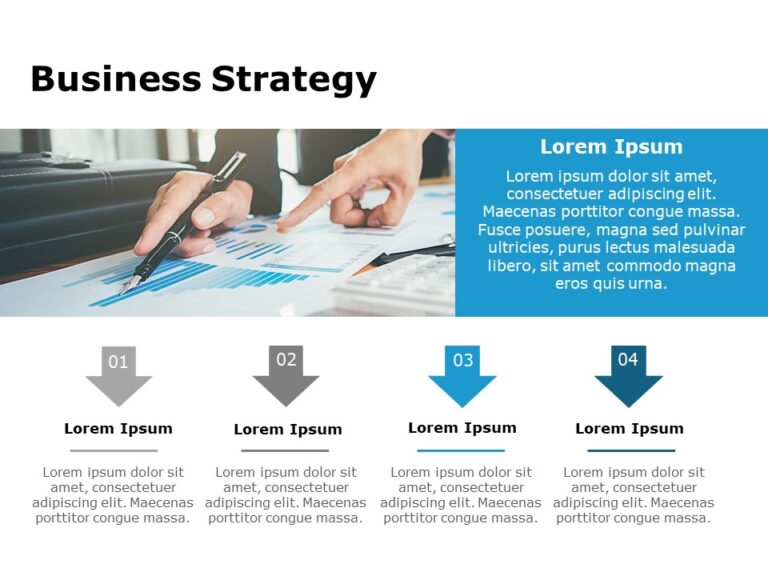 Business Strategy PowerPoint Template 43