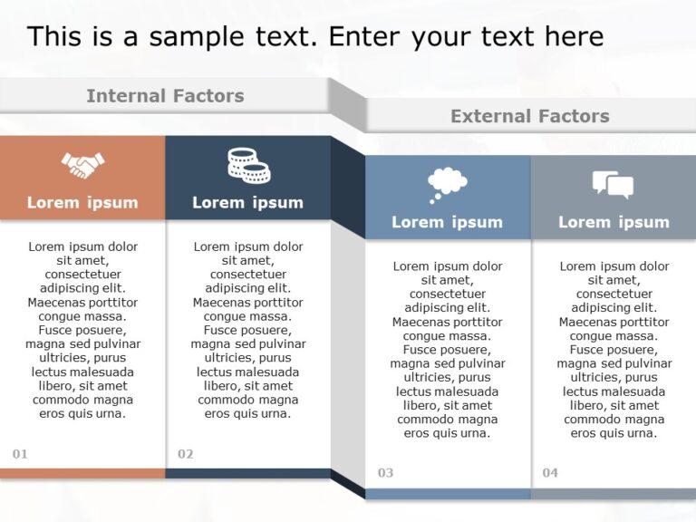Internal External Factors PowerPoint Template 2