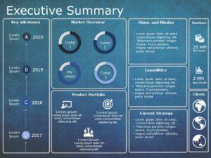Executive Summary PowerPoint Template 12