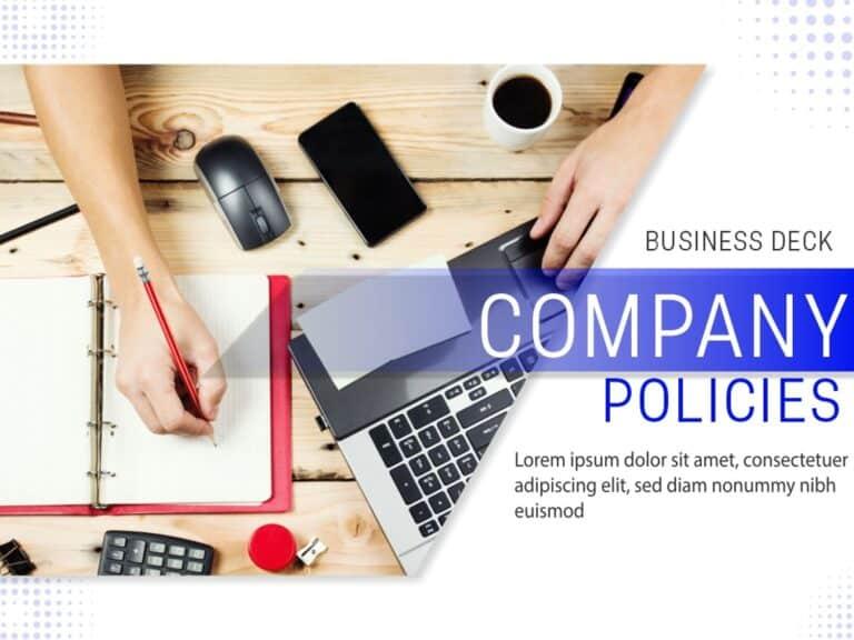 Company Policies Deck