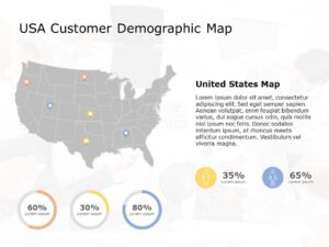 USA Map PowerPoint Template 8