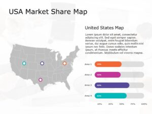 USA Map PowerPoint Template 9