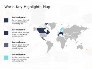 World Map PowerPoint Template 5