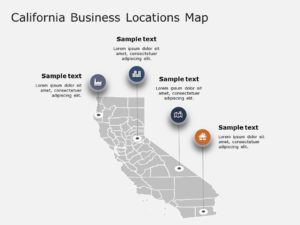 California Map PowerPoint Template 2