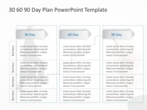 30 60 90 Day Plan Powerpoint Template 14