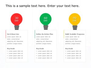30 60 90 Day Plan Powerpoint Template 16