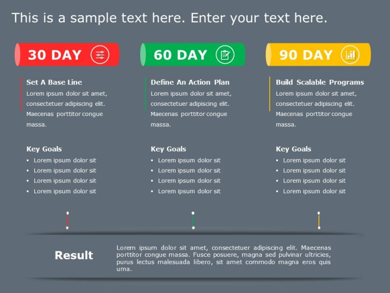 30 60 90 Day Plan Powerpoint Template 17