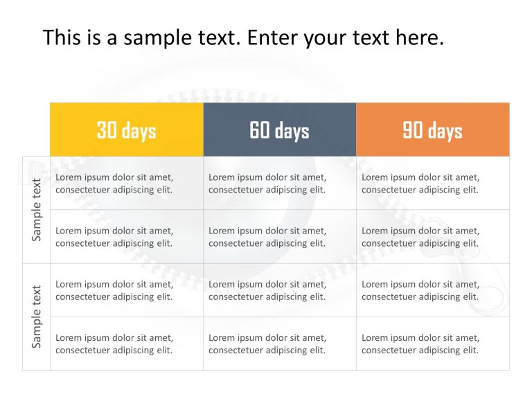 30 60 90 Day Plan Powerpoint Template 23