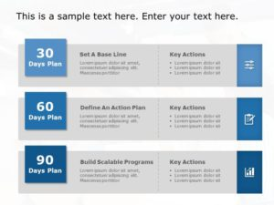 30 60 90 Day Plan Powerpoint Template 5