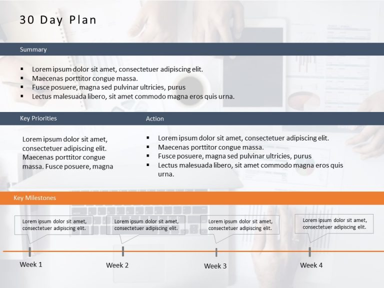 30 60 90 Day Plan Powerpoint Template 6