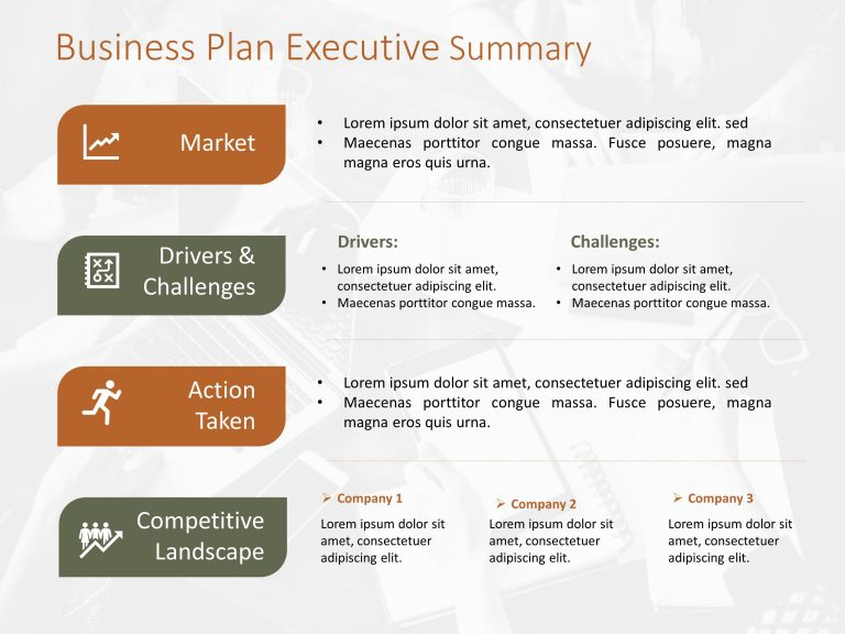 Business Plan Executive Summary Template 2